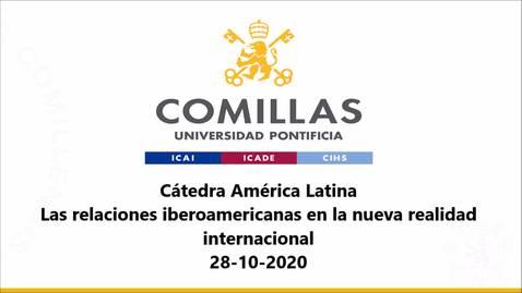 Miniatura para la entrada 28-10-2020 Cátedra América Latina