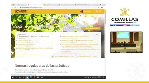 Miniatura para la entrada Reunión Coordinadora de MUAA, con alumnos para prácticas en empresas.  13/10/2020