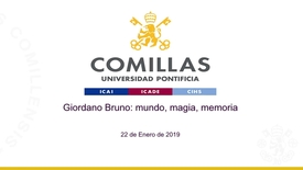 Miniatura para la entrada Giordano Bruno 22-01-2019