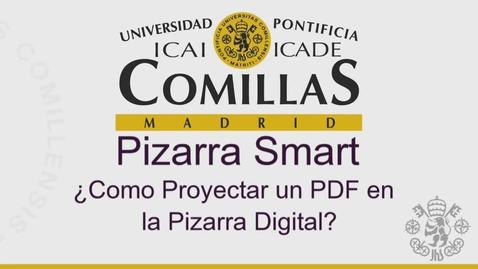 Miniatura para la entrada SMART. ¿Como Proyectar un PDF en la Pizarra Digital?