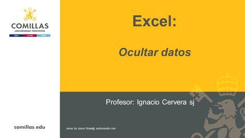 Miniatura para la entrada Excel-1-Ocultar Datos