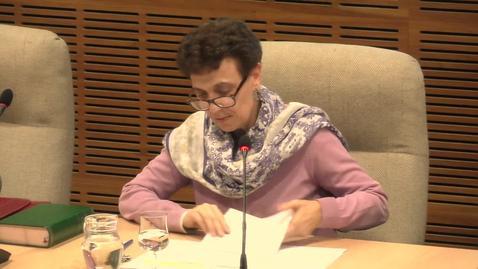 """Miniatura para la entrada Dª. Elisa Estévez López. """"Testigos de esperanza y comunión"""".  Aula Alonso Schökel. 14/11/2019"""