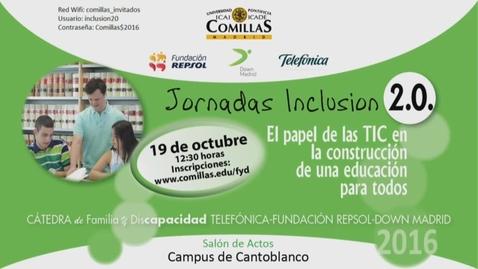 Miniatura para la entrada Jornadas Inclusión 2_0 Fernando Vidal Fernandez