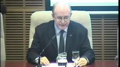 """Miniatura para la entrada Prof. D. Luis Mª. García Domínguez, SJ. (Inaguración). P. Marko I. Rupnik, SJ ; """"Discernimiento de la cultura, a través del Arte"""". 28/10/2015"""