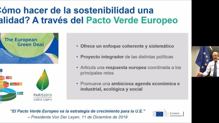 """Master Class: """"El desarrollo sostenible: el gran desafío para el futuro de las empresas"""". 10/03/2021."""