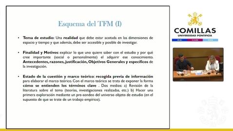Miniatura para la entrada Máster Migraciones Internacionales. Clase TFM.  30/10/2019