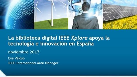 Miniatura para la entrada IEEE Author's Workshop  F. Peña (2017/11/20): Best practices to publish in IEEE journals