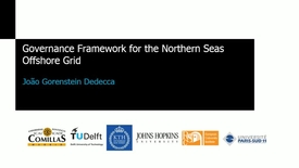 Miniatura para la entrada Seminario divulgativo J.Gorenstein 2016_11_03: Transmission and Generation Development Simulation for The Northern Seas Offshore Grids