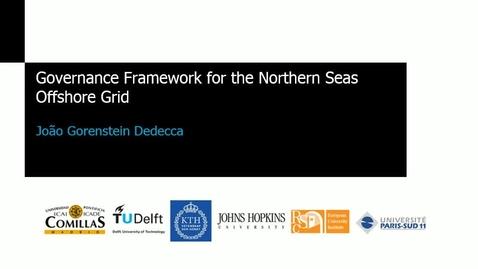 Miniatura para la entrada Seminario divulgativo J.Gorenstein 2016_11_03: Transmission and Generation Development Simulation for The Northern Seas Offshore Grids