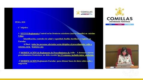 Miniatura para la entrada Master Class. Las migraciones internacionales y la cooperación en Europa: ¿Qué está pasando?  12/03/2021