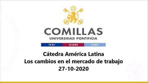Miniatura para la entrada 27-10-2020 Cátedra América Latina