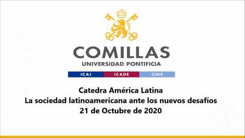 Miniatura para la entrada 21-10-2020 Cátedra América Latina