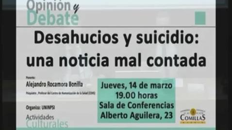 Miniatura para la entrada Desahucios y Suicidio: una noticia mal contada