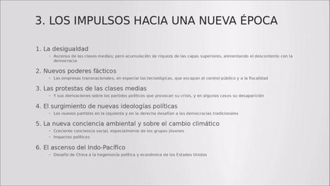 Miniatura para la entrada Cátedra de América Latina. Los desafíos de Iberoamérica en un mundo en cambio de época.  18/10/2021