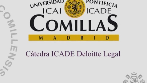 Miniatura para la entrada Cátedra ICADE deloitte  lega Movilidad internacional de  trabajadores: presente y futuro  30/01/2017