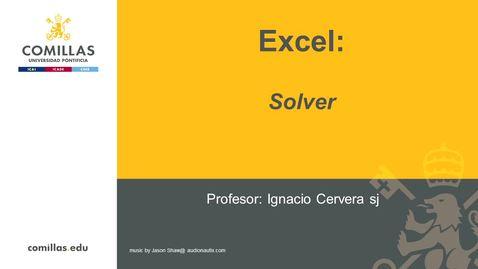 Miniatura para la entrada Excel-3-La herramienta Solver
