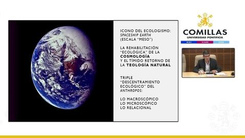 """Miniatura para la entrada Prof. Dr. P. Jaime Tatay Nieto, SJ. """"Desafíos ambientales para la teología y la espiritualidad."""";  XVI Jornadas de Teología """"Teología y ecología"""".  1/10/2019"""