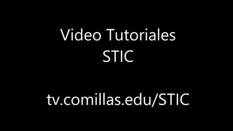 Miniatura para la entrada Video-tutorial plataforma CAU