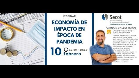 Miniatura para la entrada Economía de impacto en época de pandemia