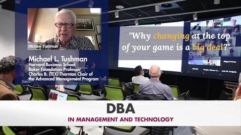 Miniatura para la entrada DBA Masterclass: Leading innovation and strategic change