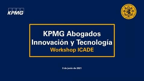 Miniatura para la entrada Sesión informativa Innovación y Tecnología en KMPG Abogados