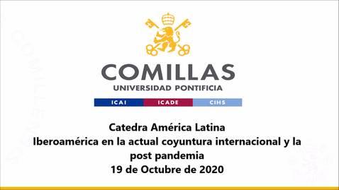 Miniatura para la entrada 19-10-2020 Cátedra América Latina