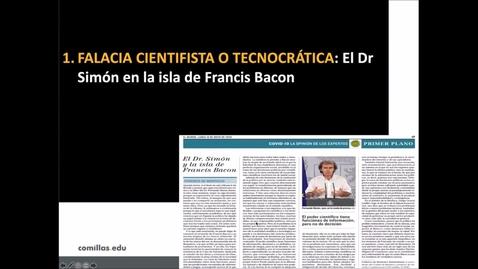 """Miniatura para la entrada Ciencia y religión ante la pandemia del COVID-19. """"De respiradores y vacunas: ciencia y ética en la priorización de recursos sanitarios.""""  11/03/2021"""