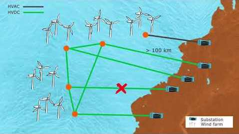 "Miniatura para la entrada Best Paths - Demo 1 ""Offshore wind integration"""