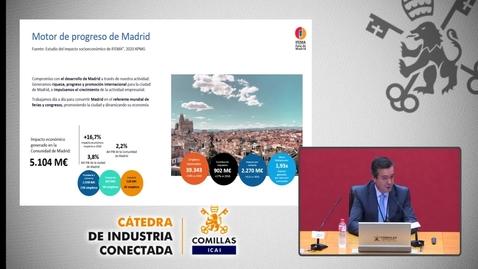 """Miniatura para la entrada  Cátedra de Industria Conectada. """"La persona en el centro"""" Digitalización por COVID-19.   10/11/2020"""
