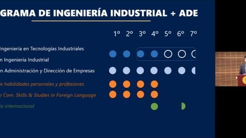 Miniatura para la entrada Sesión Informativa Online. Grados en Ingeniería en Tecnologías Industriales.  23/04/2021