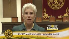 Miniatura para la entrada Dr.ª D.ª María Mercedes Fernández García. Directora del Instituto de Estudios sobre Migraciones