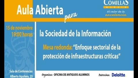 Miniatura para la entrada Aula Abierta para la Sociedad de la Información.  15/11/2012