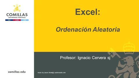 Miniatura para la entrada Excel-1-Ordenación Aleatoria