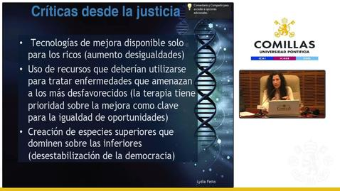 """Cátedra Francisco  José Ayala de Ciencia, Tecnología y Religión. """"El Transhumanismo""""  2º parte. Sesión de Tarde.  30/05/2019"""