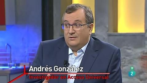 Miniatura para la entrada Entrevista a Andrés González. 07/01/2019. La 2. La aventura del saber.