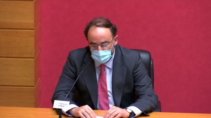 Toma de Posesión del Decano de la Facultad de Derecho.  Dr. D. Abel Benito Veiga Copo.  5/02/2021