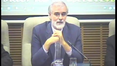 """Miniatura para la entrada Prof. Dr. P. Julio L. Martínez, SJ. """"Clausura""""   XIV Jornadas de Teología. """"Conmemoración conjunta de la Reforma de Lutero.""""  4/10/2017"""