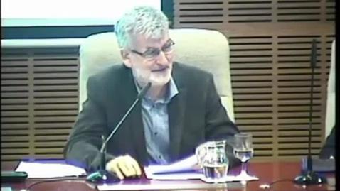 """Miniatura para la entrada Prof. D. Pedro Zamora García. """"Humor y Gracia de la Biblia.""""  Aula Alonso Schökel.  16/04/2015"""