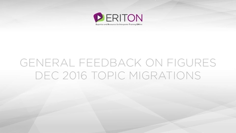 Miniatura para la entrada General feedback on figures Dec 2016 topic Migrations