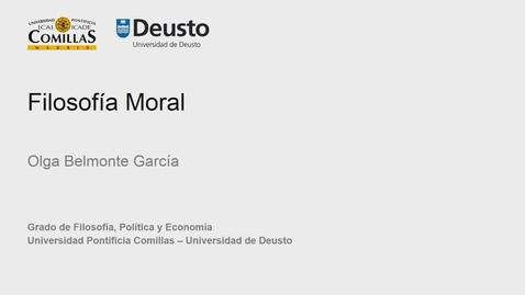 Olga Belmonte García – Filosofía Moral