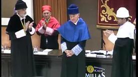 Miniatura para la entrada Acto Solemne de Investidura Doctor Honoris Causa. 10/10/2016
