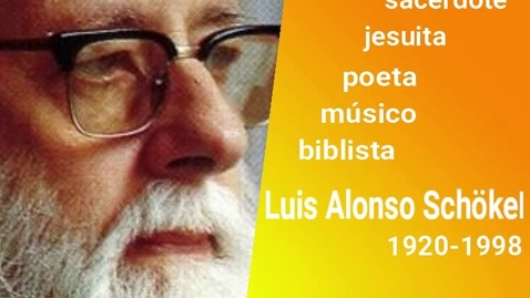 Miniatura para la entrada Homenaje a Luis Alonso Schökel