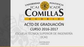 Miniatura para la entrada ICAI - Graduación 2016-2017