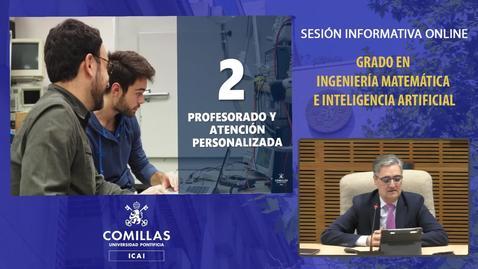 Miniatura para la entrada Sesión Informativa. Grado en Ingeniería Matemática e Inteligencia Artificial.  18/12/2020