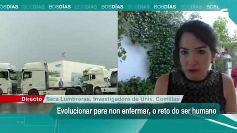 """Miniatura para la entrada Entrevista a Sara Lumbreras. 19/06/2020: """"Evolucionar para no enfermar, el reto del ser humano"""""""