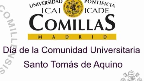 Miniatura para la entrada Día de la comunidad Universitaria. Santo Tomás de Aquino 28/01/2016