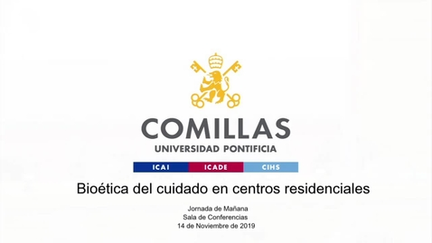 Miniatura para la entrada Bioética del cuidado en centros residenciales I