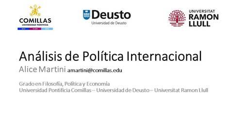 Miniatura para la entrada FIPE - Análisis de Política Internacional - Alice Martini