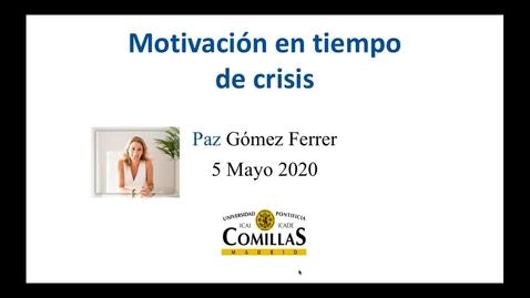 Miniatura para la entrada Motivación en tiempo de crisis. Aprender a pensar en positivo