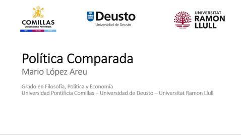 Miniatura para la entrada FIPE - Política Comparada  - Mario López Areu